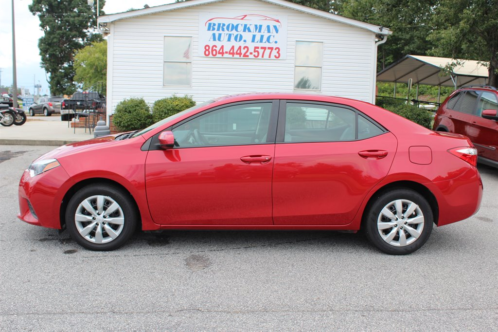 2014 Toyota Corolla LE. View Inventory